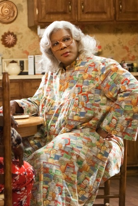 madea in kitchen