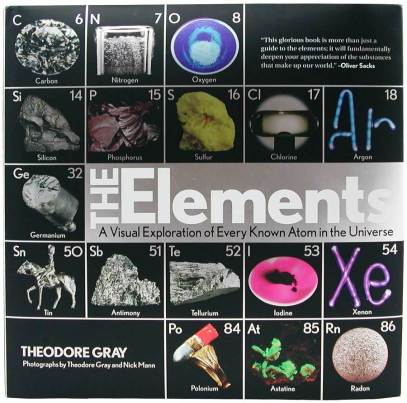 photo of the cover of Theodore Gray's book: THe Elements