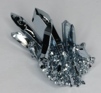 beautiful osmium crystal formation