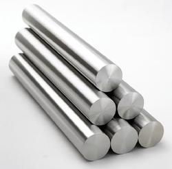 stack of titanium rods