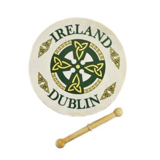 Irish bodhran and tipper