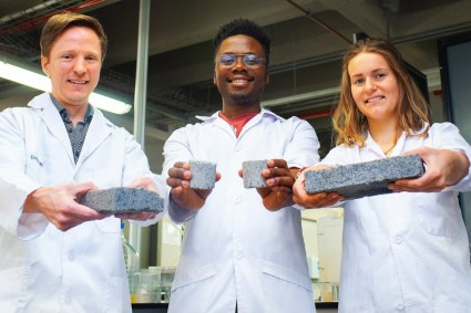 bricks made from urine