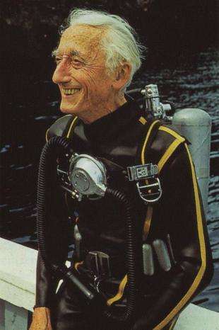Jacque Cousteau's favorite regulator