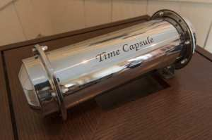 housecat-sized time capsule