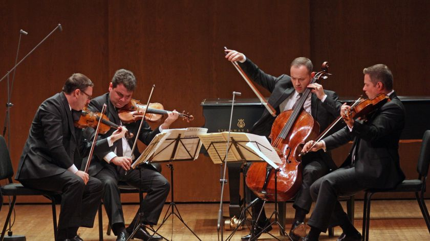 astrpjysicist string quartet ensemble