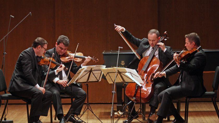 astrpjysicist string quartet ensemble