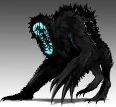 drawing of a conceptual alien monster