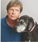 photo of Dave Barry and his dog Lucy